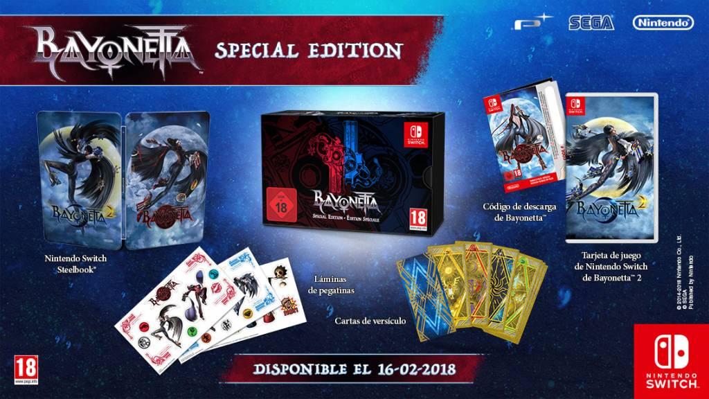 Nintendo Switch Bayonetta 2 Edición Especial