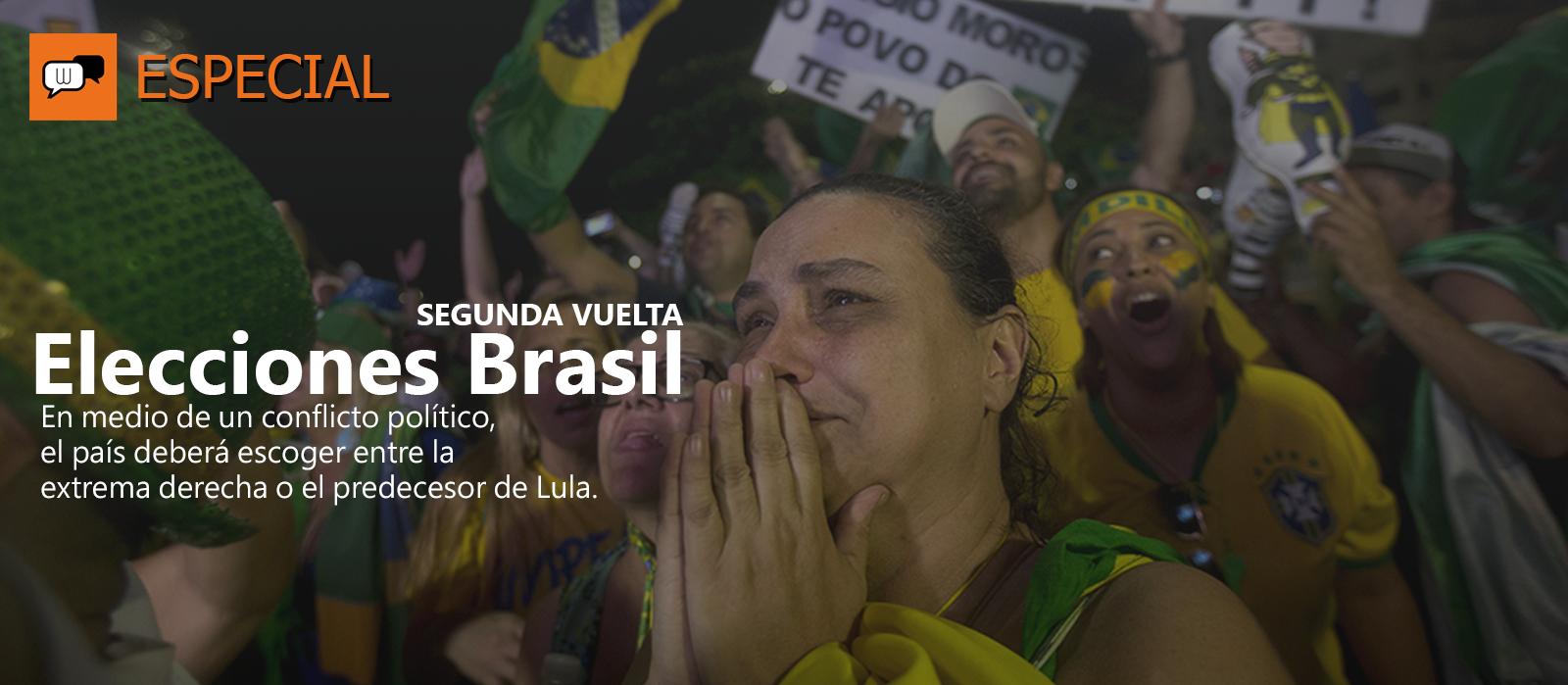 Elecciones presidenciales Brasil - Segunda Vuelta