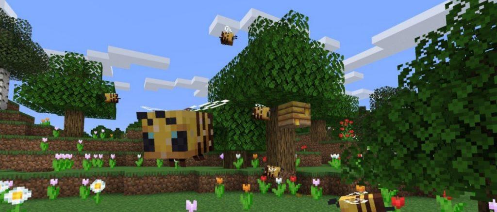 Minecraft Abejas