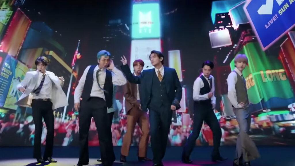 Revive la presentación de BTS en los MTV Video Music Awards 2020