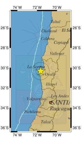 Sismo de mediana intensidad afecta a la zona norte de Chile
